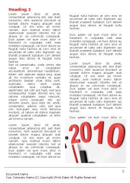Time of 2012 Word Template, First Inner Page, 07252, Holiday/Special Occasion — PoweredTemplate.com