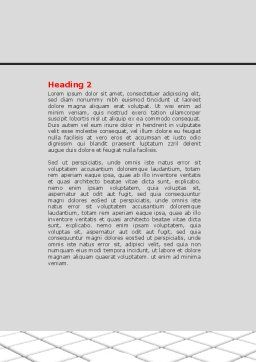 Business Implementation Word Template, Second Inner Page, 07300, Consulting — PoweredTemplate.com