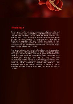 Blood Thrombus Word Template Second Inner Page