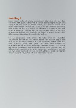 Twitter Word Template, Second Inner Page, 07328, Holiday/Special Occasion — PoweredTemplate.com