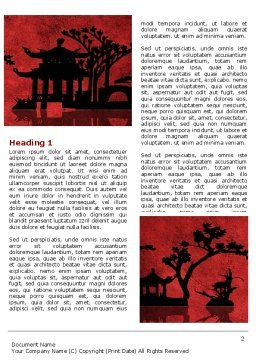 Chinese Theme Word Template First Inner Page