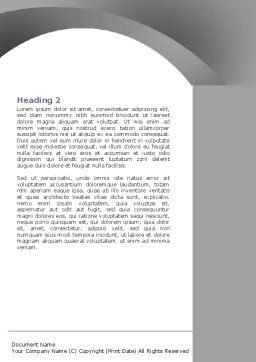 Go Up Word Template, Second Inner Page, 07338, Education & Training — PoweredTemplate.com