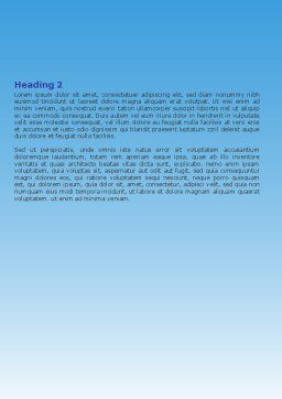Popular Thinking Word Template Second Inner Page