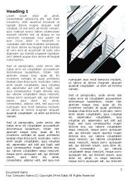 Abstract Skyscraper Theme Word Template, First Inner Page, 07344, Construction — PoweredTemplate.com