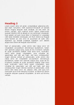 Getting Out Word Template, Second Inner Page, 07362, Consulting — PoweredTemplate.com