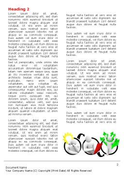 Idea Implementation Plan Word Template First Inner Page