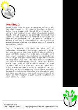 Idea Implementation Plan Word Template Second Inner Page
