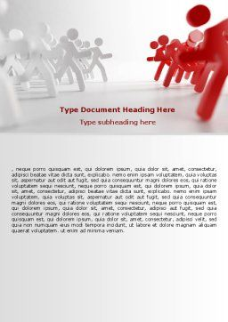 Rival Sides Word Template, Cover Page, 07413, Consulting — PoweredTemplate.com