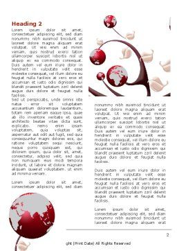 Growing Earth Fruits Word Template First Inner Page