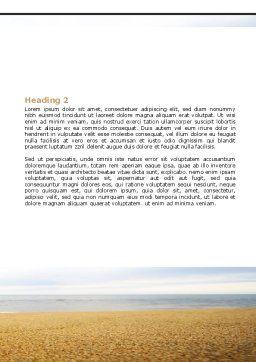 Balanced Stone Gate Word Template, Second Inner Page, 07427, Religious/Spiritual — PoweredTemplate.com