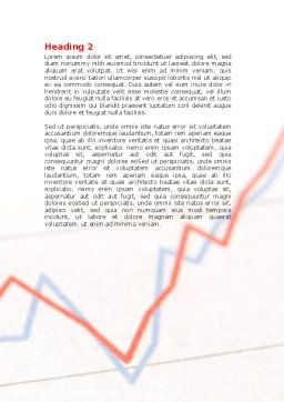 Business Trend Word Template, Second Inner Page, 07431, Business — PoweredTemplate.com
