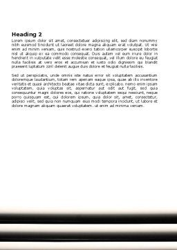 Window Blinds Word Template, Second Inner Page, 07436, Consulting — PoweredTemplate.com