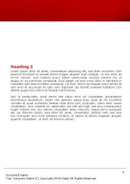 Main Link Word Template, Second Inner Page, 07441, Consulting — PoweredTemplate.com