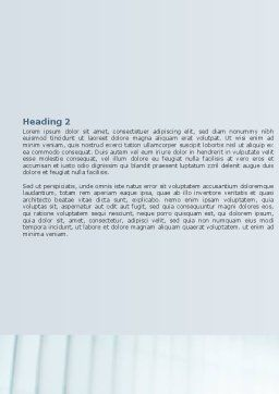 Loud Hailer Word Template, Second Inner Page, 07444, Business — PoweredTemplate.com