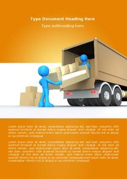Loading Transport Word Template Cover Page