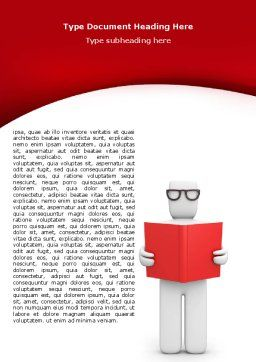 Reviewer Word Template, Cover Page, 07470, Education & Training — PoweredTemplate.com