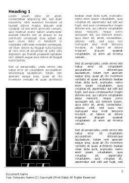 Radiograph Word Template First Inner Page