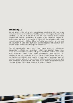 Meeting Room Word Template, Second Inner Page, 07553, Business — PoweredTemplate.com