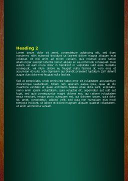 Giving Points Word Template Second Inner Page