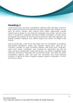 Underwater Picture Of Swimming Pool Word Template, Second Inner Page, 07635, Sports — PoweredTemplate.com