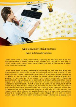 Memo Word Template, Cover Page, 07656, Consulting — PoweredTemplate.com