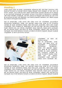 Memo Word Template, First Inner Page, 07656, Consulting — PoweredTemplate.com