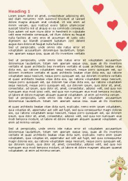 Voodoo Love Doll Word Template, First Inner Page, 07659, Business Concepts — PoweredTemplate.com