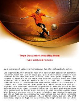 World Cup Of FIFA Word Template, Cover Page, 07668, Sports — PoweredTemplate.com