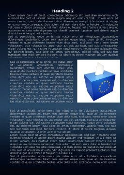European Union Elections Word Template, Second Inner Page, 07679, Legal — PoweredTemplate.com