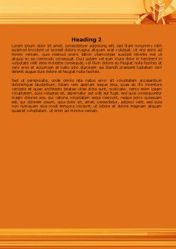 City Block Planning Word Template, Second Inner Page, 07689, Business — PoweredTemplate.com