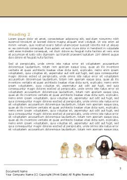 Segregate Word Template, Second Inner Page, 07707, Consulting — PoweredTemplate.com