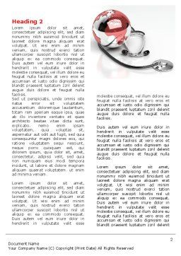Medical Care Of The World Word Template, First Inner Page, 07711, Business — PoweredTemplate.com