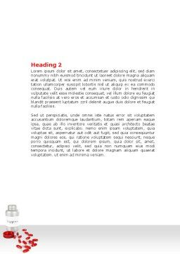 Happiness Pills Word Template, Second Inner Page, 07728, Consulting — PoweredTemplate.com