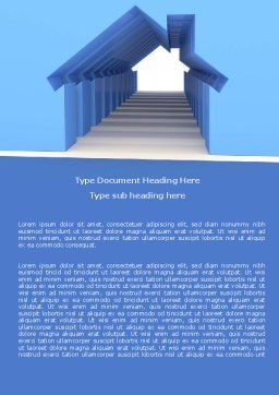 House Perspective Word Template Cover Page