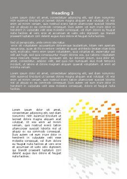 Equalizers Word Template, Second Inner Page, 07760, Careers/Industry — PoweredTemplate.com