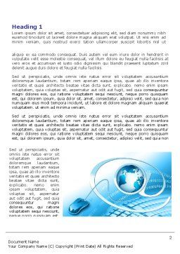 Internet Concept Word Template, First Inner Page, 07768, Technology, Science & Computers — PoweredTemplate.com