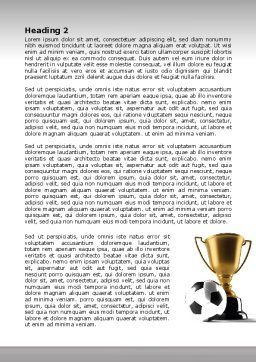 Football Cup Word Template, Second Inner Page, 07774, Sports — PoweredTemplate.com