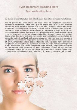 Skin Care Word Template, Cover Page, 07778, Medical — PoweredTemplate.com