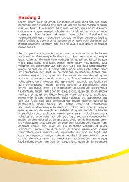 Lego World Word Template, Second Inner Page, 07788, Consulting — PoweredTemplate.com