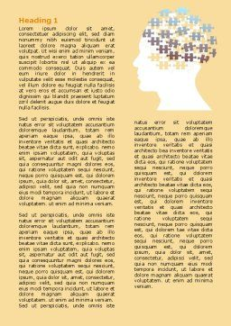 Puzzle Brain Word Template First Inner Page