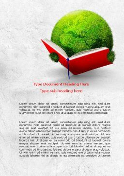 Reading World Word Template Cover Page