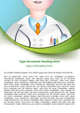Therapeutic Word Template, Cover Page, 07797, Medical — PoweredTemplate.com