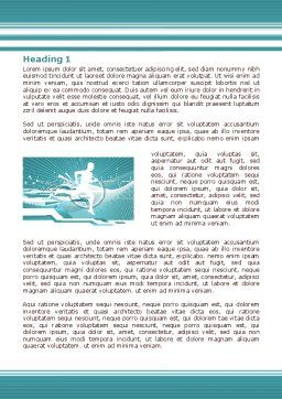 Run For Health Word Template, First Inner Page, 07821, Medical — PoweredTemplate.com