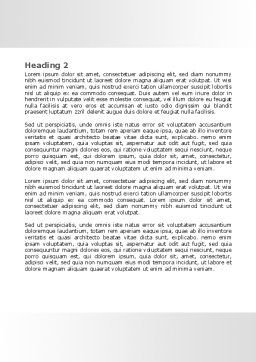 Open Hands Word Template, Second Inner Page, 07822, Consulting — PoweredTemplate.com