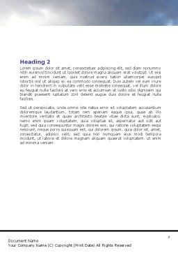 Deadlock Word Template, Second Inner Page, 07848, Consulting — PoweredTemplate.com