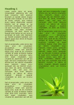 Aloe Word Template, First Inner Page, 07880, Nature & Environment — PoweredTemplate.com