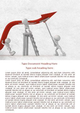 Keeping High Performance Word Template, Cover Page, 07898, Consulting — PoweredTemplate.com