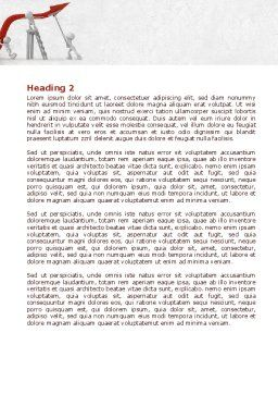 Keeping High Performance Word Template, Second Inner Page, 07898, Consulting — PoweredTemplate.com