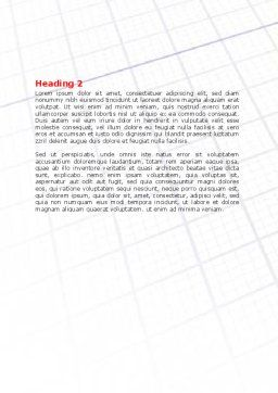 Fitting the Puzzle Word Template, Second Inner Page, 07926, Business — PoweredTemplate.com