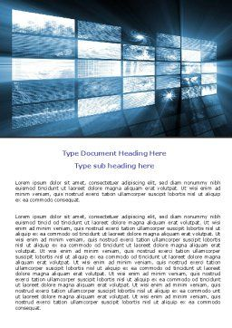 Multi Screen Word Template Cover Page